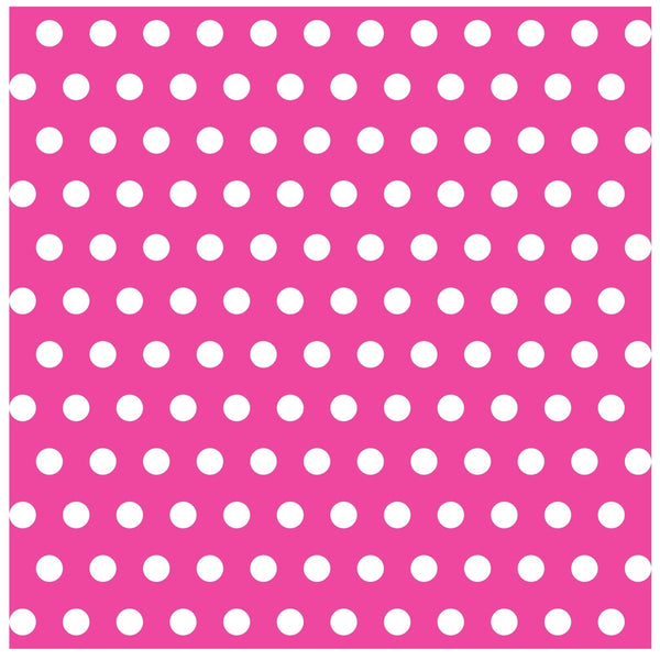 Polka Dots Heat Transfer Vinyl Sheet - Vinyl Boutique Shop