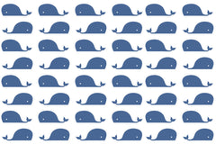 Pier 37 Custom Listing - Nautical Blue Whale - Vinyl Boutique Shop