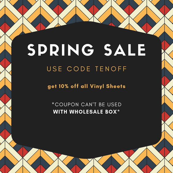 SPRING SALE - Vinyl Boutique Shop
