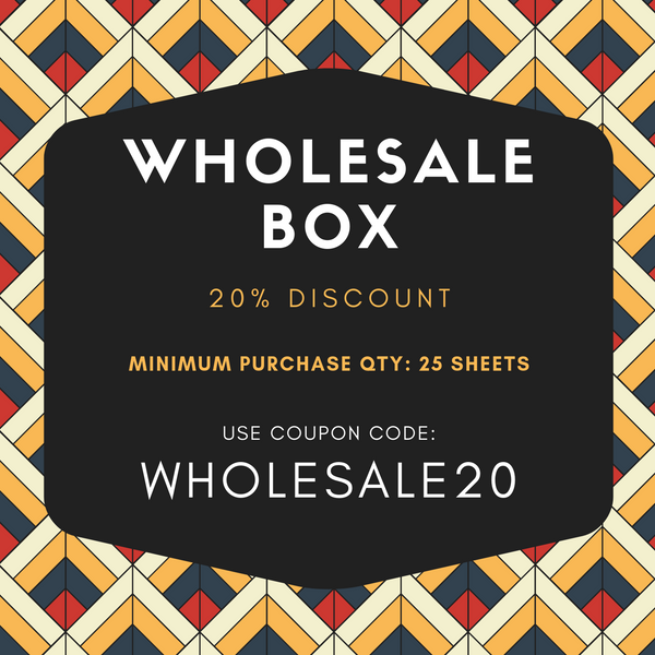WHOLESALE BOX - 20% OFF