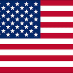 American USA Flag Adhesive Vinyl Sheet - Vinyl Boutique Shop