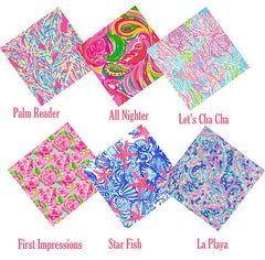 Custom Grab Bag Our Most Popular Lilly Adhesive Prints, Pack of Six 12