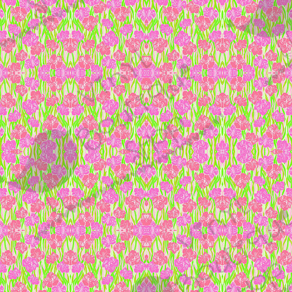 Glady Lilly Inspired Small Scale Vinyl Sheet - Vinyl Boutique Shop