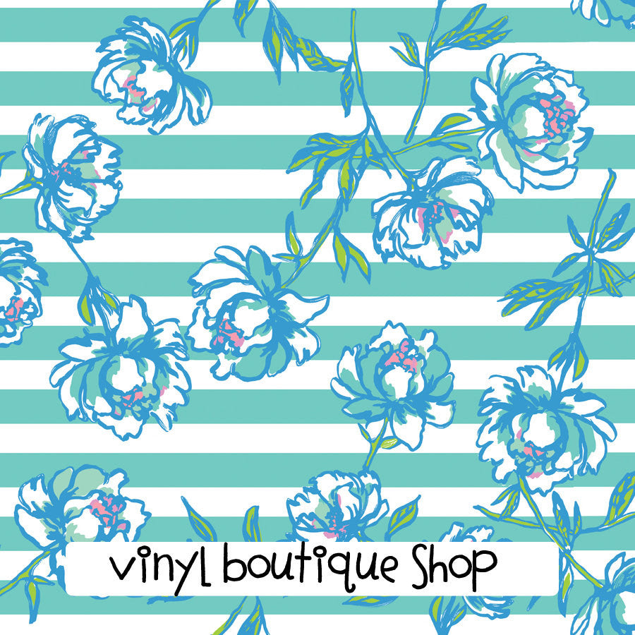 Tossing The LinePrinted Patterned Craft Vinyl - Vinyl Boutique Shop