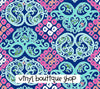 Behind The Gates Lilly Inspired Small Scale Vinyl Sheet - Vinyl Boutique Shop