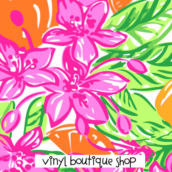 Lilly Inspired Prints 2015 Lilly Inspired Printed Patterned Craft Vinyl - Vinyl Boutique Shop