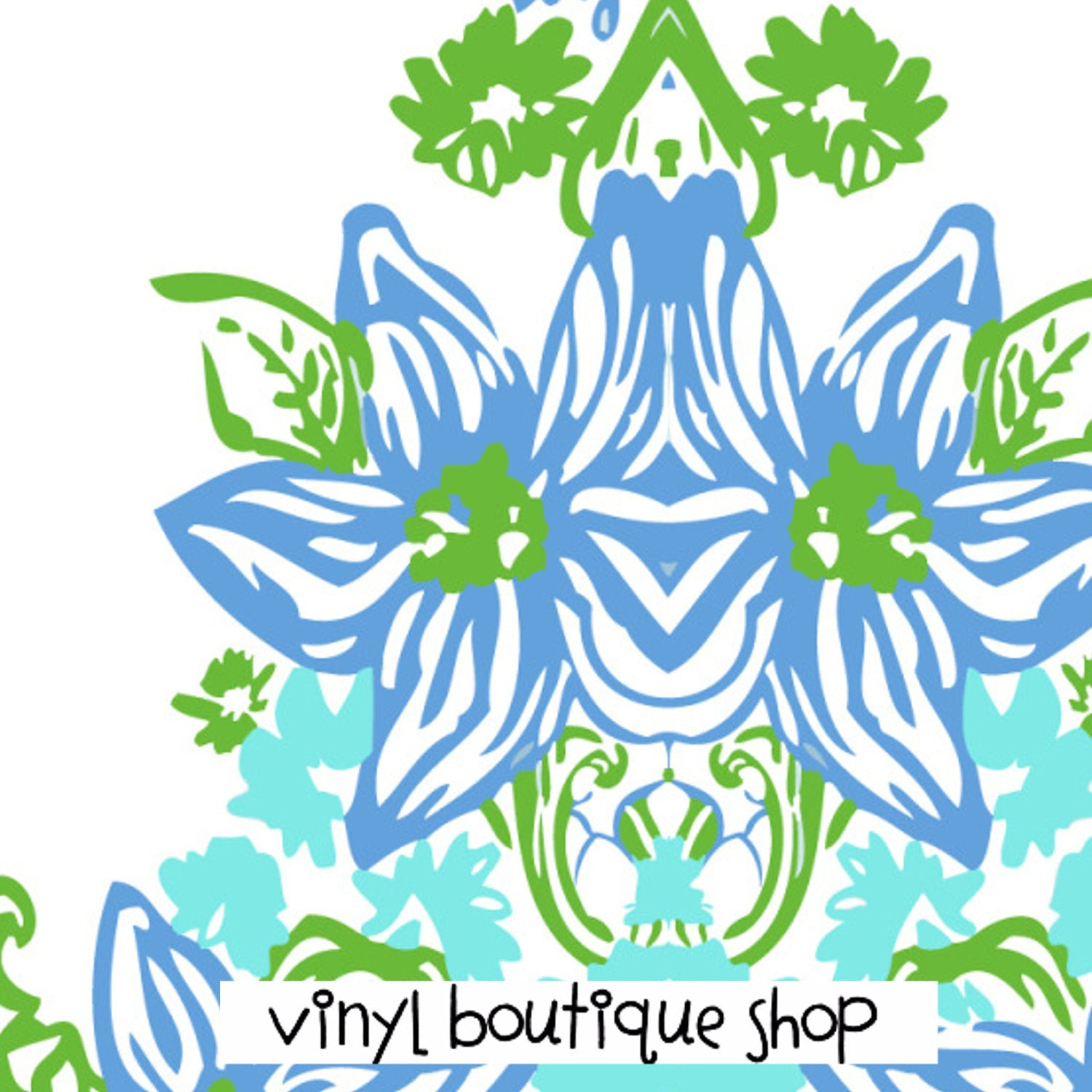 Virgo Lilly Inspired Printed Patterned Craft Vinyl - Vinyl Boutique Shop