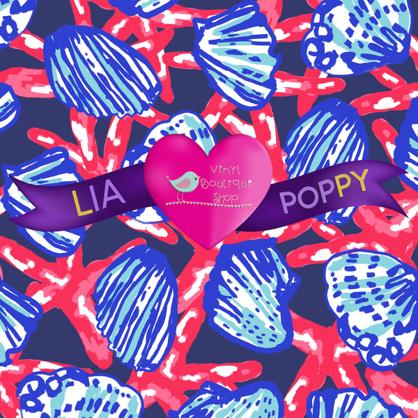 Vinyl Shell Lia Poppy Vinyl Sheet LPY-32 - Vinyl Boutique Shop