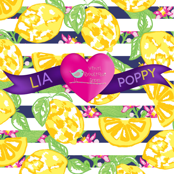 Fruit Lia Poppy Vinyl Sheet LPY-55 - Vinyl Boutique Shop