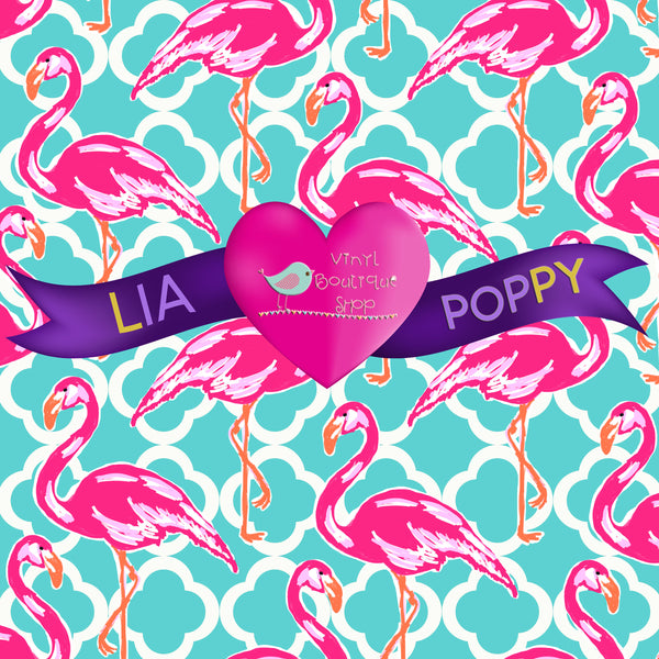 Flamingo Lia Poppy Vinyl Sheet LPY-92 - Vinyl Boutique Shop