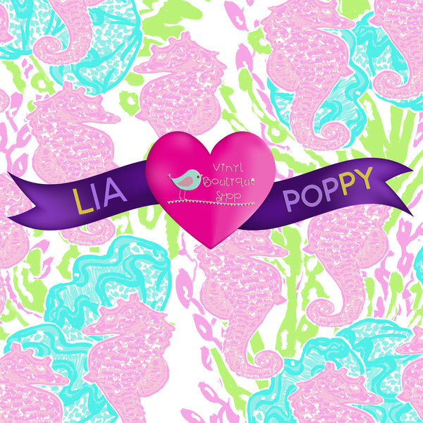 Lilly Inspired Small Scale Vinyl Online Heat Transfer Vinyl Adhesive Vinyl