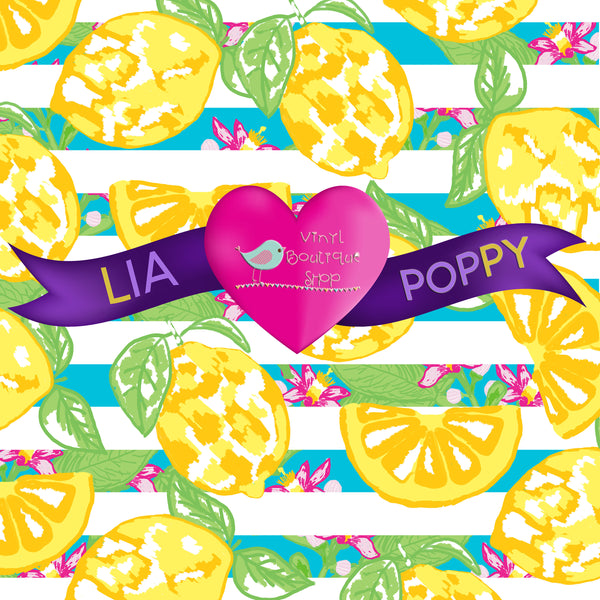Fruit Lia Poppy Vinyl Sheet LPY-56 - Vinyl Boutique Shop