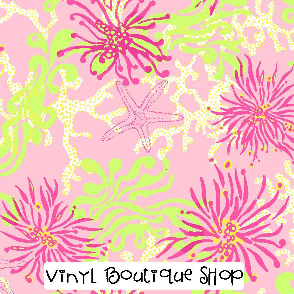 Dirty Shirley Pink Lilly Inspired Vinyl - Vinyl Boutique Shop