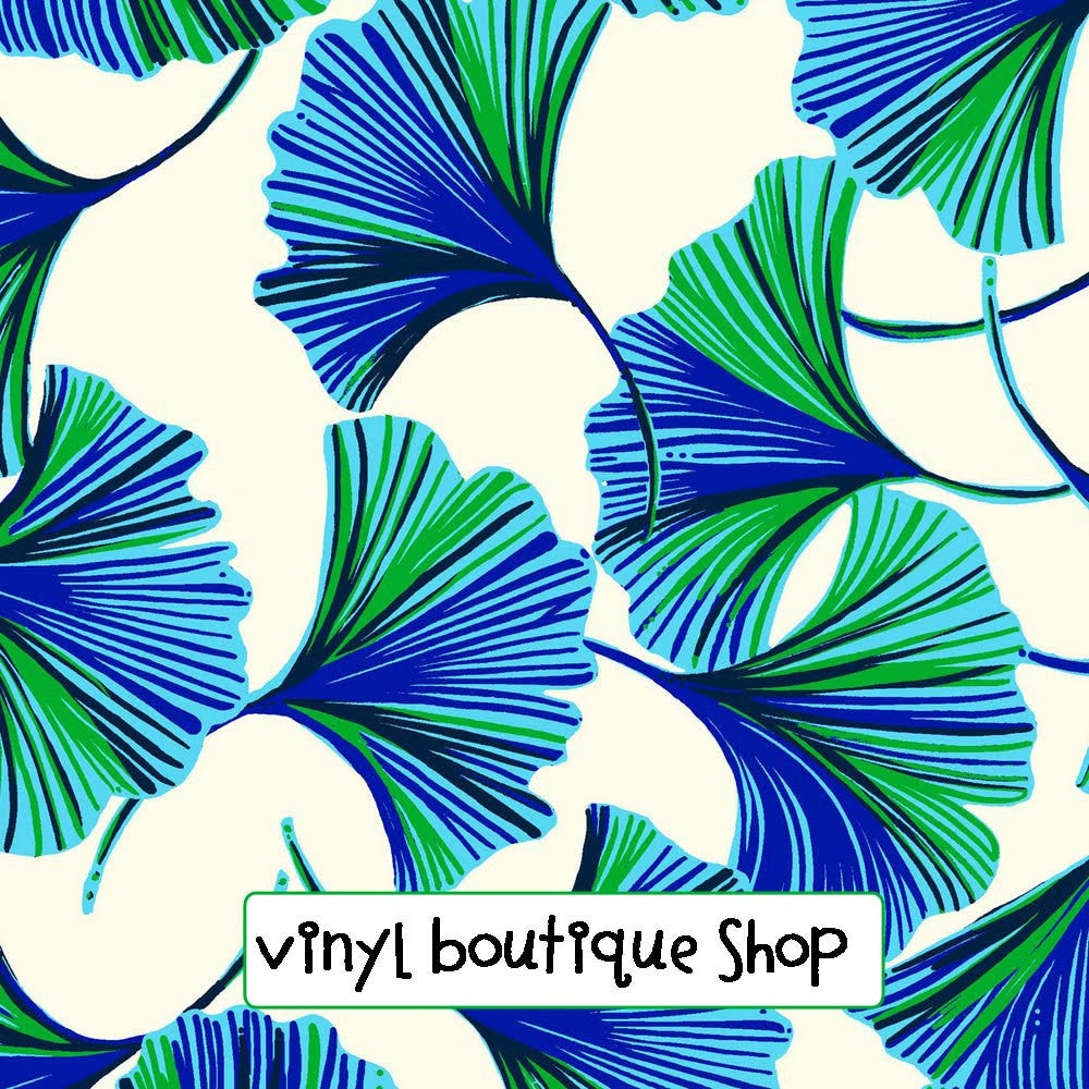 Ginky Lilly Inspired Printed Patterned Craft Vinyl - Vinyl Boutique Shop