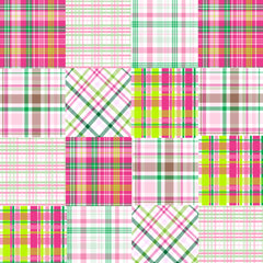 Preppy Plaid Patterns Vinyl - Vinyl Boutique Shop