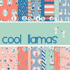 Cool Llama Adhesive Vinyl Sheet - Vinyl Boutique Shop