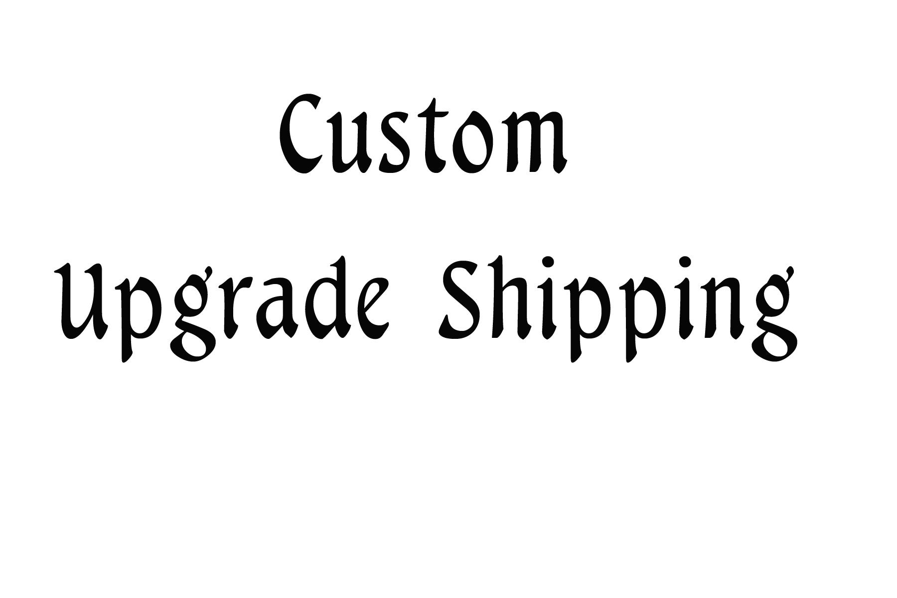 Overnight Upgrade to shipping - Vinyl Boutique Shop