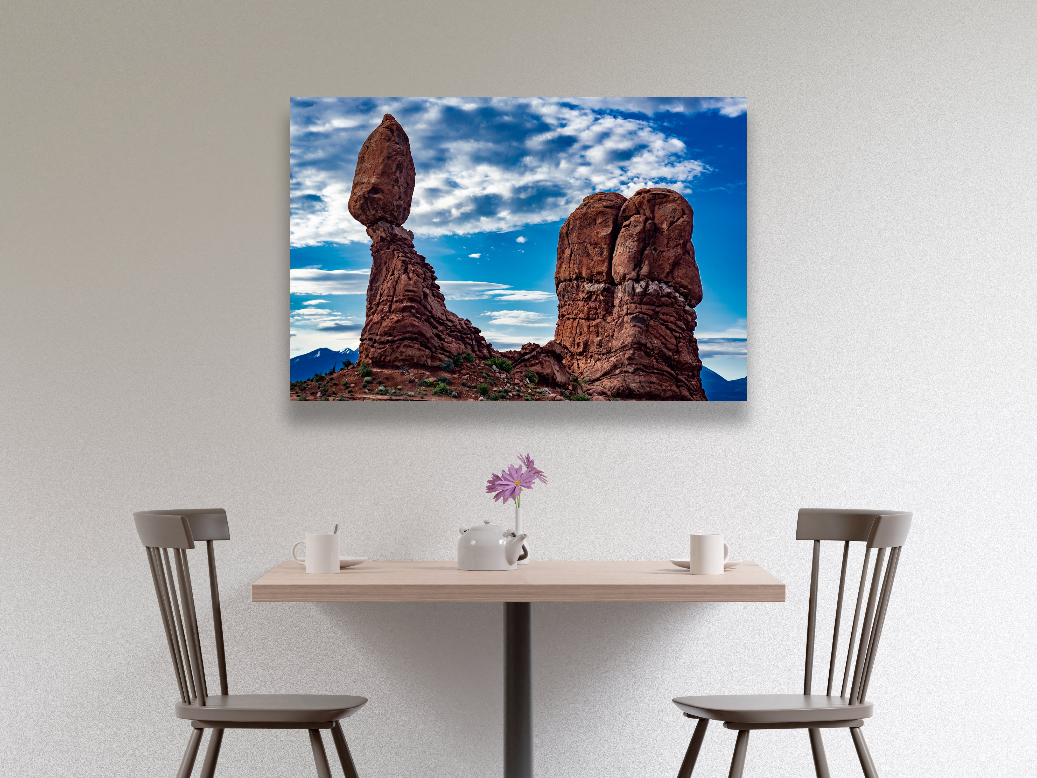 """Balanced Rock"" - Landscape Art"
