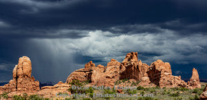 """Relief and concern at Moab"" - Landscape Art"