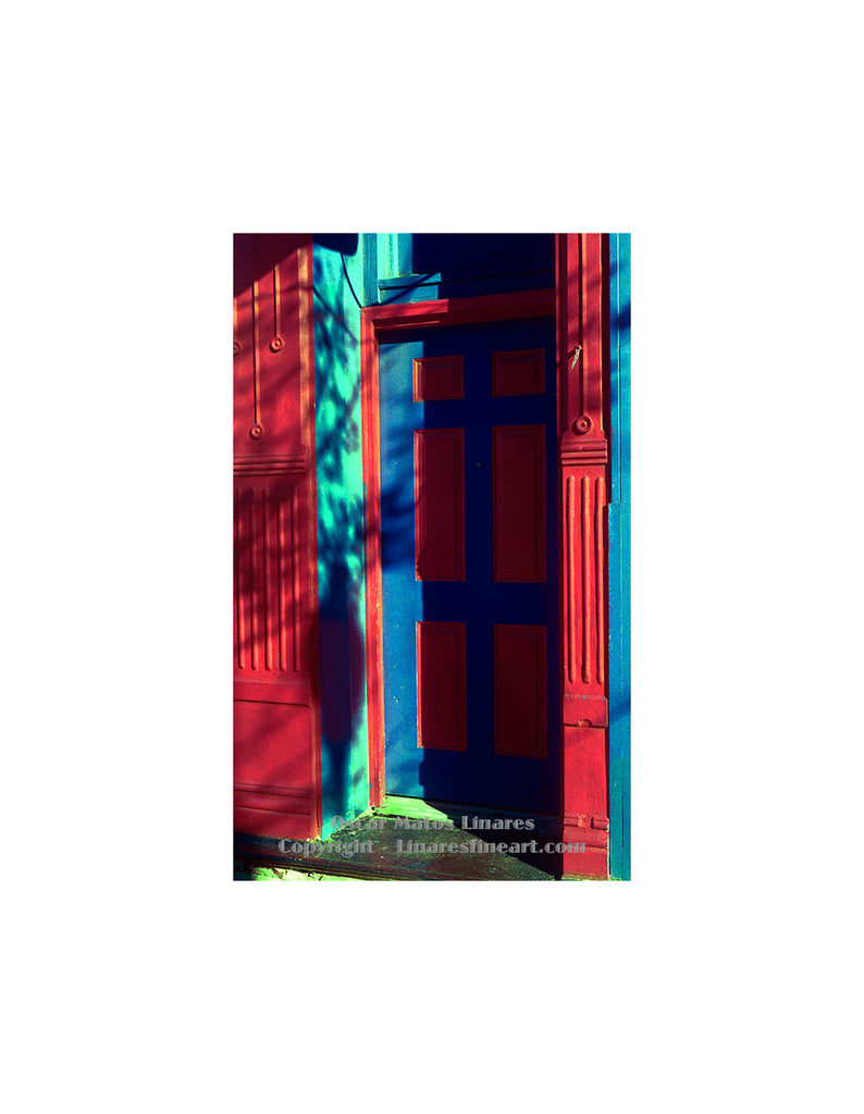 ... Red and Blue Door ...  sc 1 st  Linares Fine Art & Red and Blue Door Division Avenue Chicago u2013 Linares Fine Art