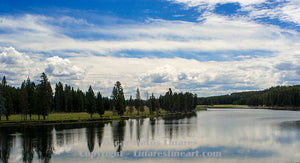 """Yellowstone National Park River"" - Landscape Art"