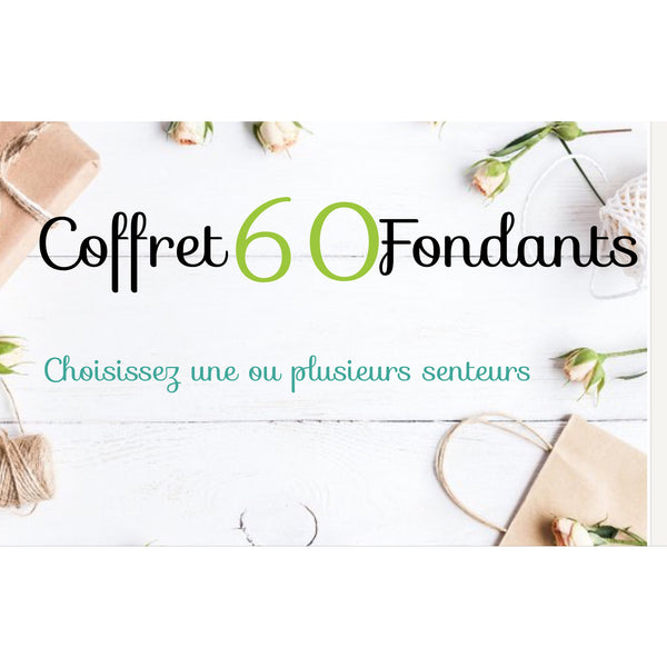 Coffret 60 fondants