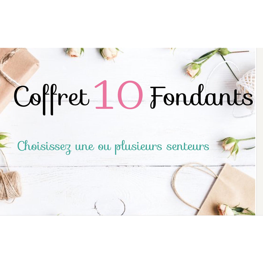 Coffret 10 fondants