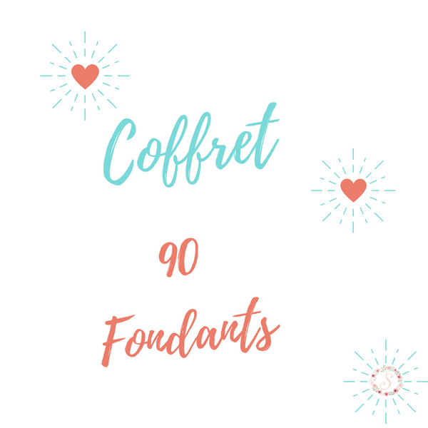 🌸Coffret 90 fondants 🌸