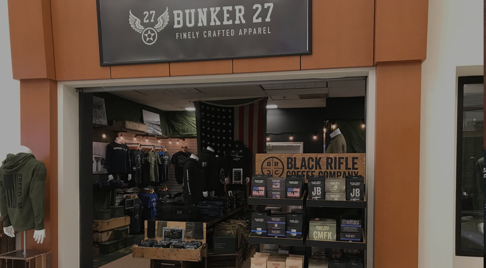 Bunker 27 Keesler Black Rifle Coffee