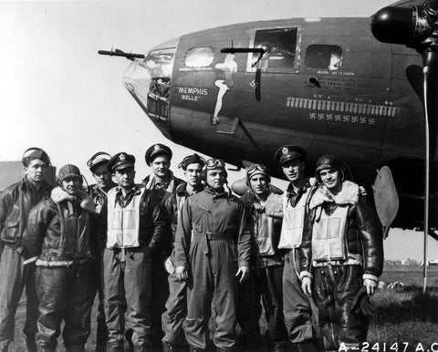 Memphis Belle B-17 Flying Fortress Crew