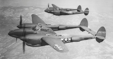 first conceived in 1937 by lockheed chief engineer hall l hibbard and his then assistant clarence kelly johnson the twin boomed p 38 was the most