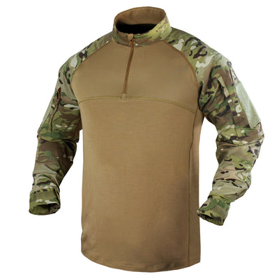 COMBAT SHIRT WITH MULTICAM