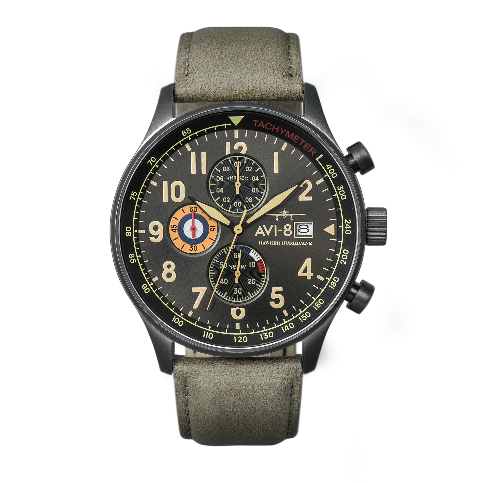 Hawker Hurricane - Classic Chronograph Edition (Dark Earth)  AV-4011OE, Bunker 27