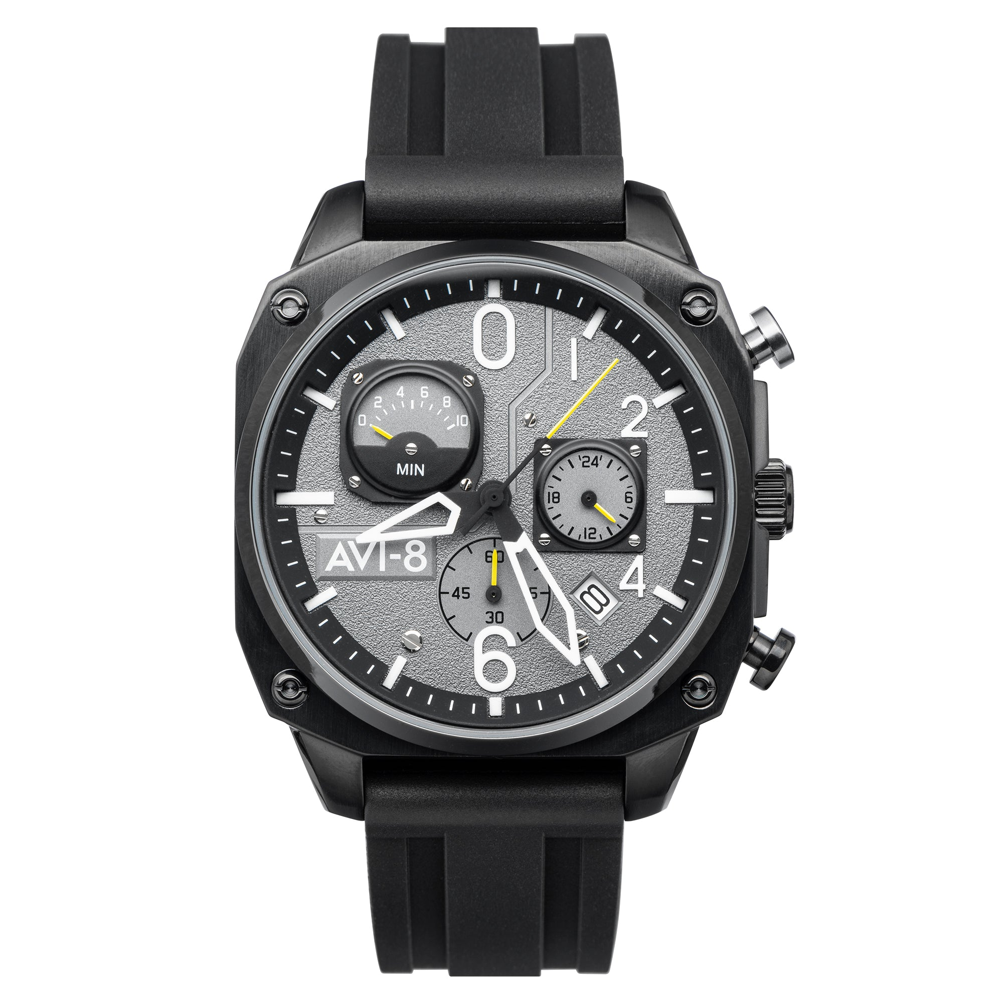 Hawker Hunter - Retrograde Chronograph Edition (Tactical Black)