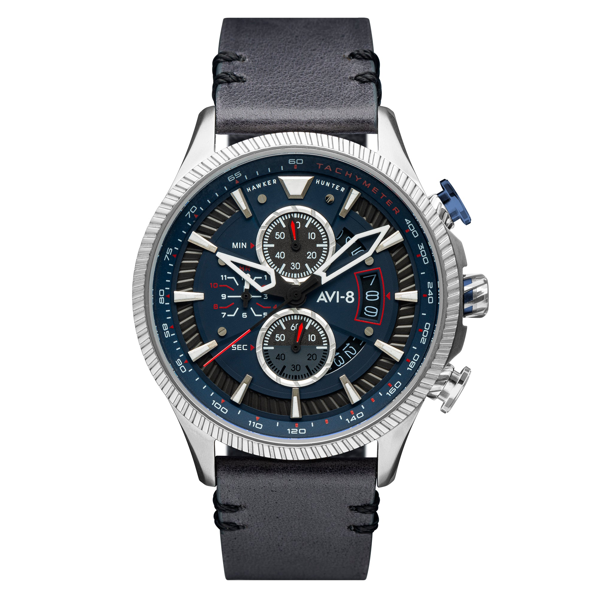 Hawker Hunter - Avon Chronograph Edition (Marine Grey)  AV-4064-04, Bunker 27
