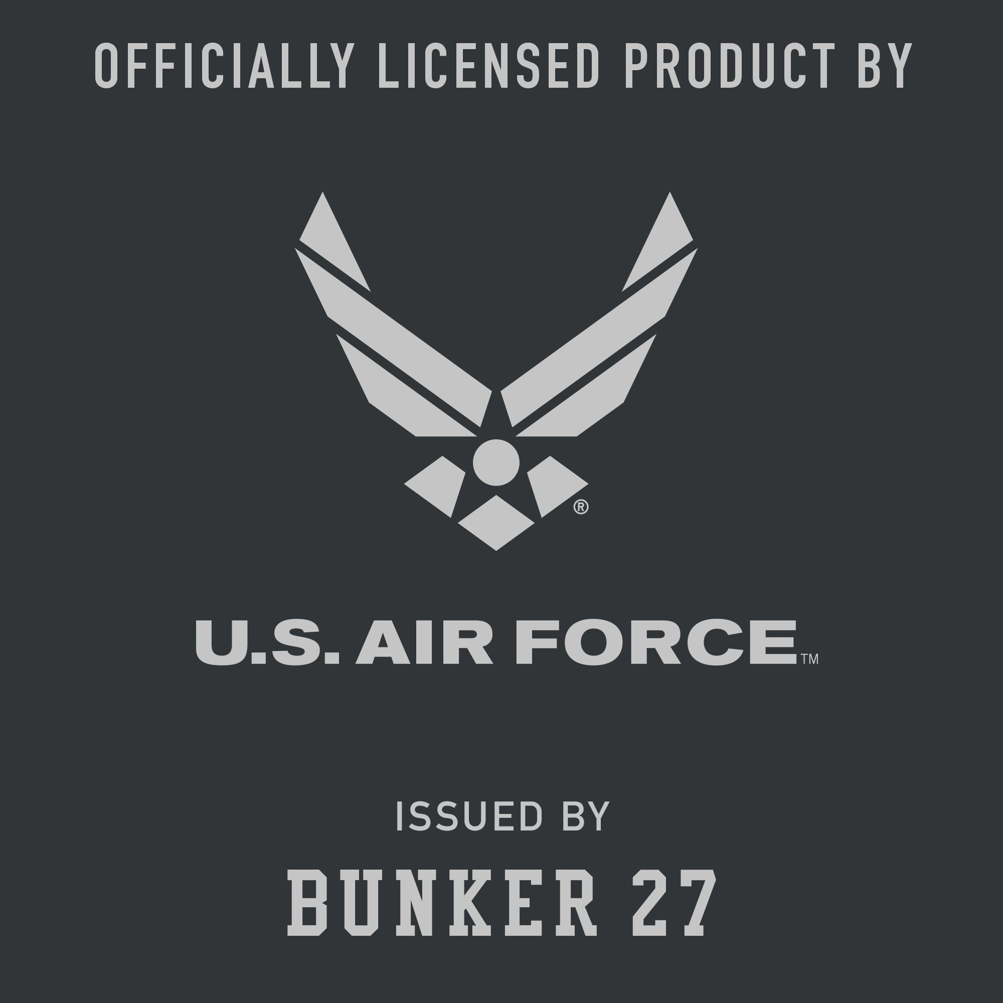 Official U.S. Air Force Hoodie, Bunker 27
