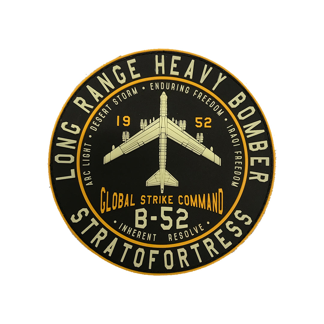 "B-52 Stratofortress 4"" PVC Patch"