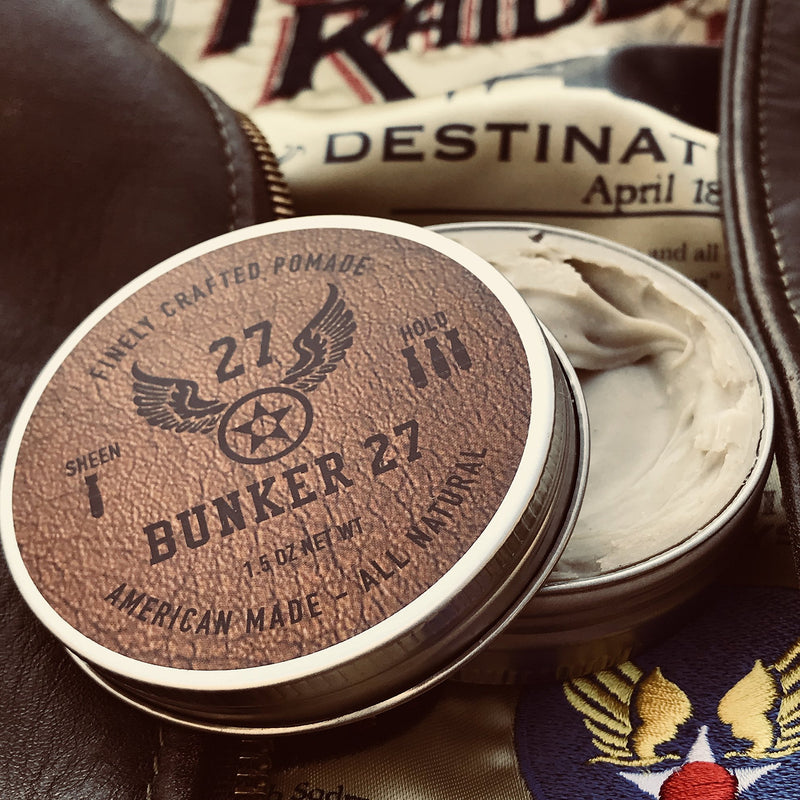 Coffee and Leather Pomade - All Natural