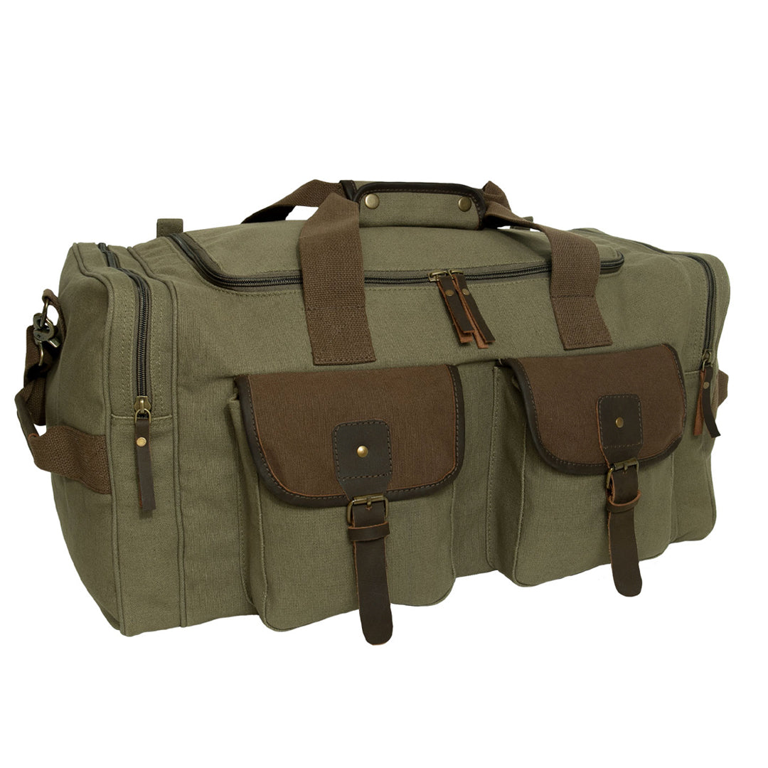 Canvas Travel Bag - Olive Drab