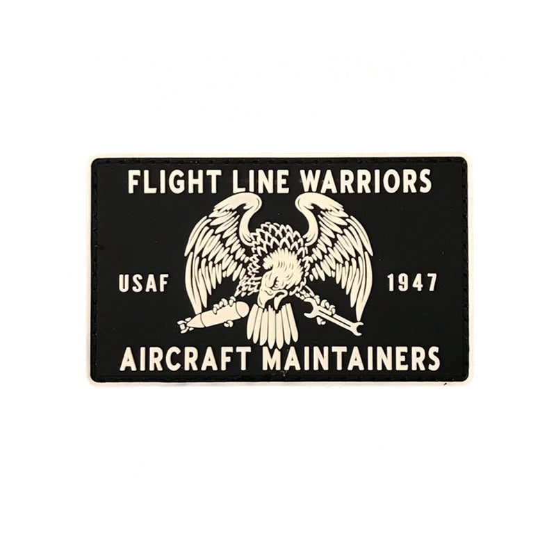 Flight Line Warriors PVC Patch