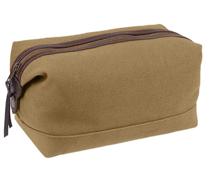 Canvas & Leather Travel Kit, Bunker 27