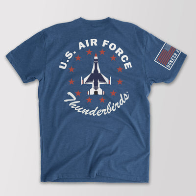 Official U.S. Air Force Thunderbirds Single Jet T-Shirt