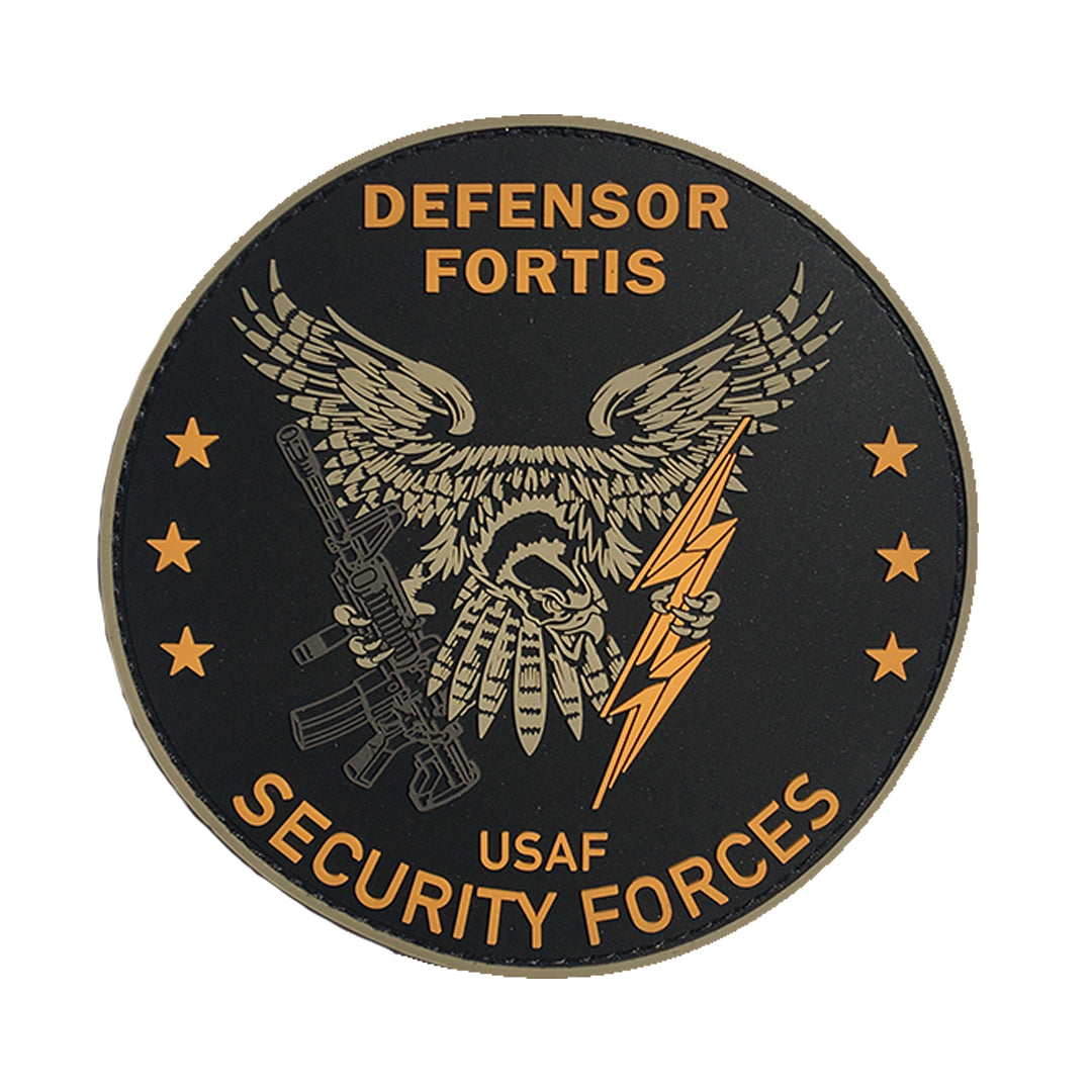 "USAF Security Forces 4"" PVC Patch"