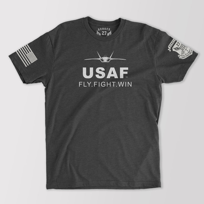 USAF Fly Fight Win Official T-Shirt