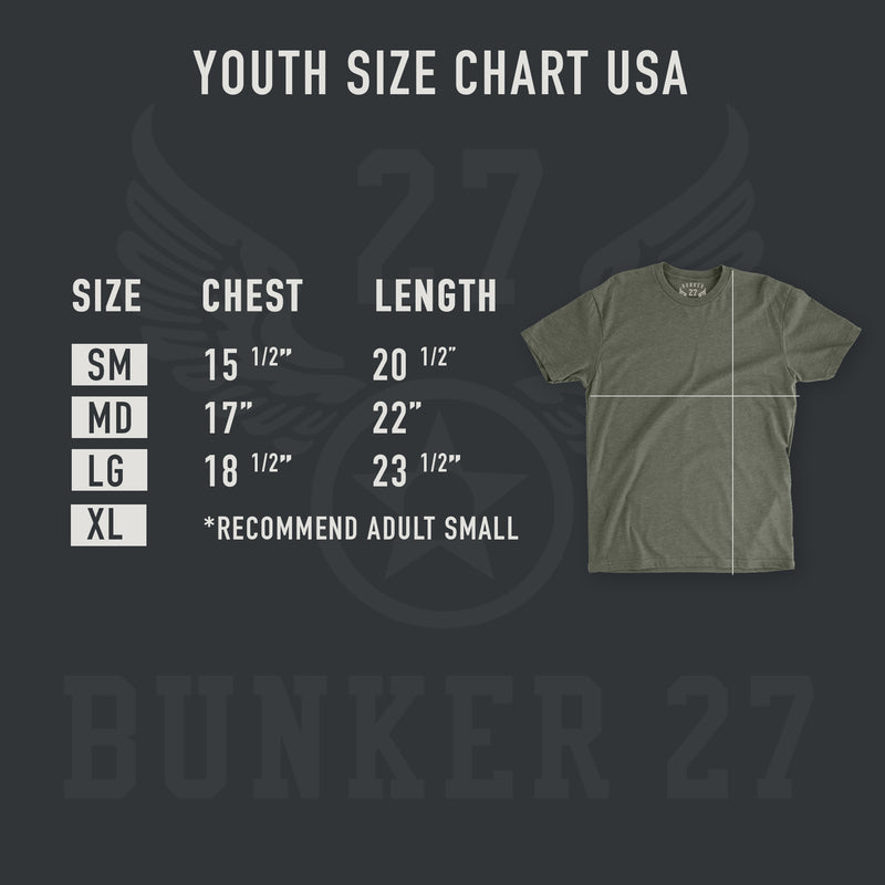youth military aviation t-shirt for boys.  Air force t-shirts for youth, boys