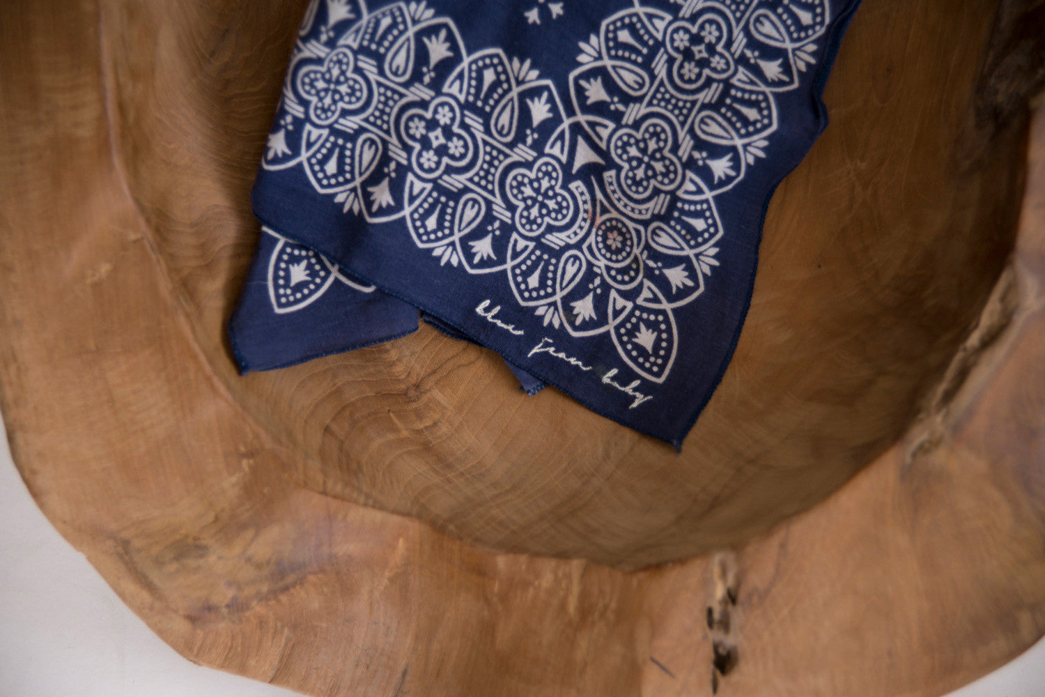 Blue Conquistador / Washfast Colors Bandana