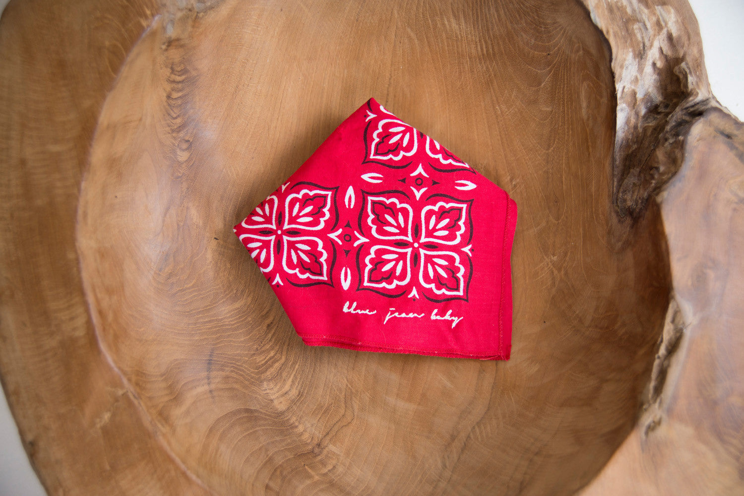 Turkey Red / WashFast Colors Bandana - Vintage Accessories