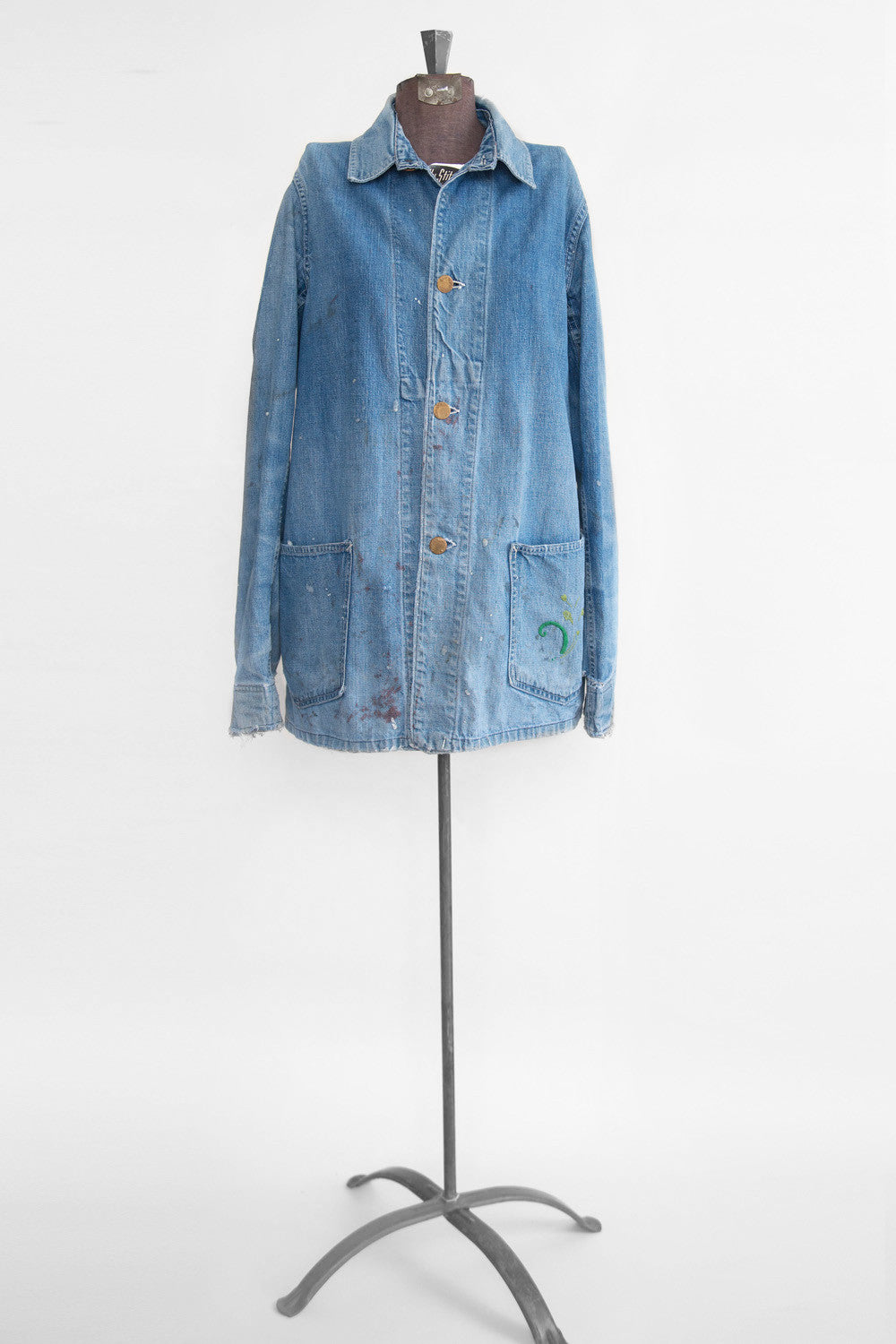 Vintage Women's Denim Chore Jacket
