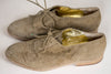 Vintage Women's Designer Grey Suede Shoes