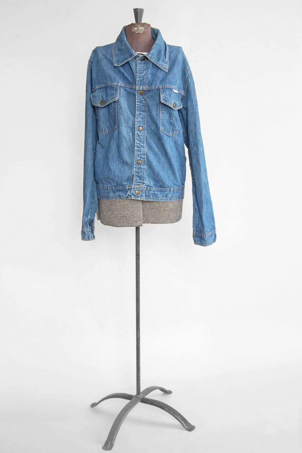 Live Ins Denim Jacket - Vintage Women's Denim Jacket